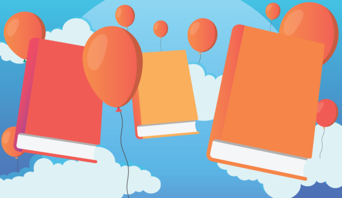 Great Book Covers and Balloons
